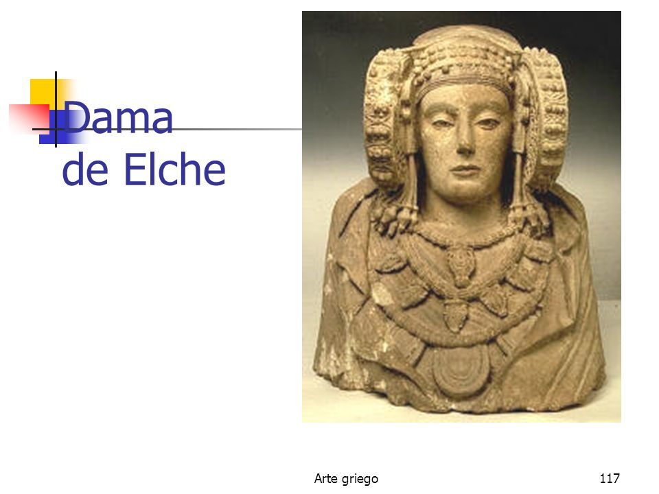 Dama de Elche Arte griego