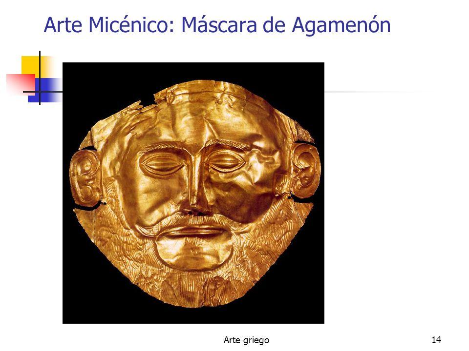 Arte Micénico: Máscara de Agamenón