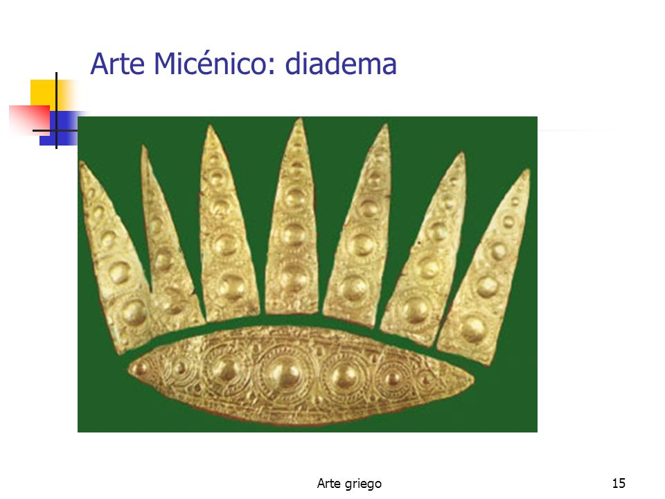 Arte Micénico: diadema
