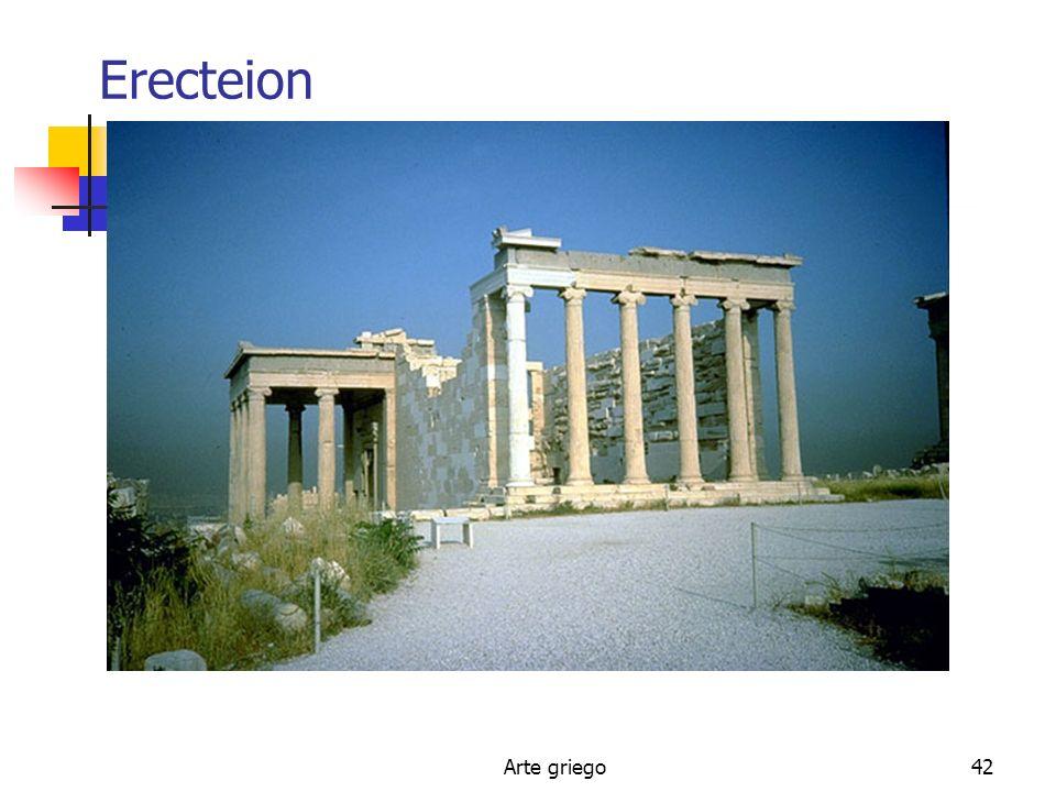 Erecteion Arte griego
