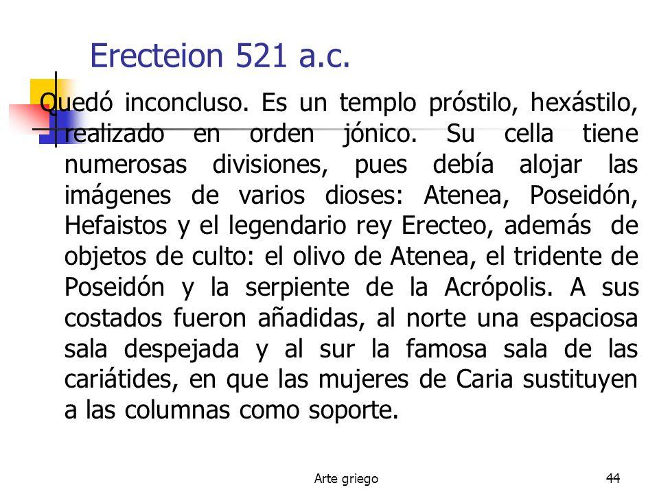 Erecteion 521 a.c.