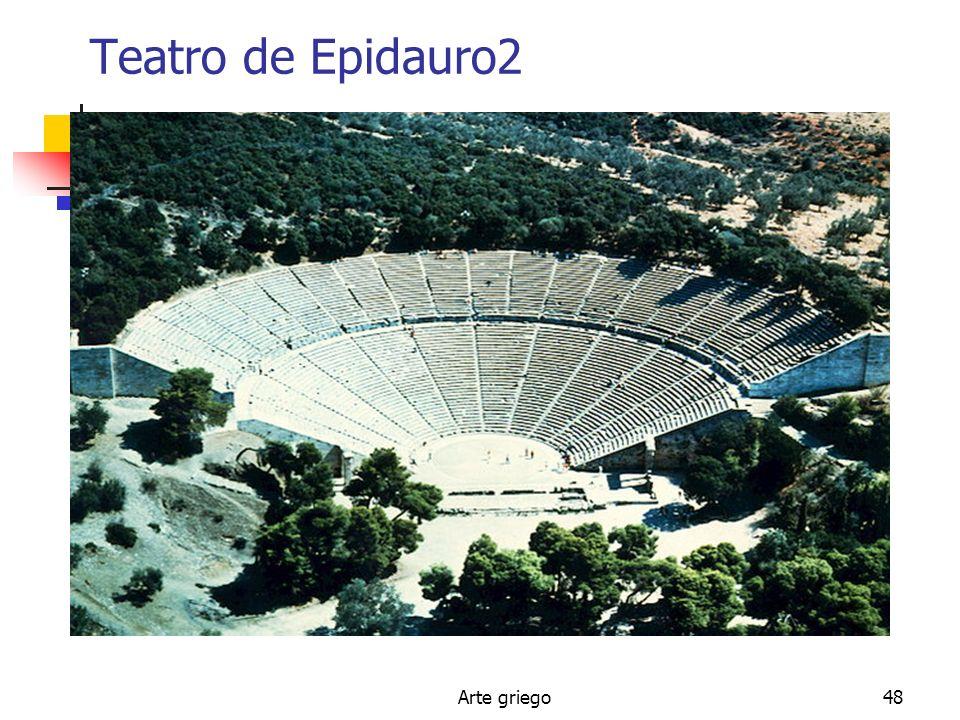 Teatro de Epidauro2 Arte griego