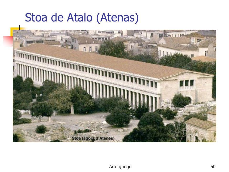 Stoa de Atalo (Atenas) Arte griego