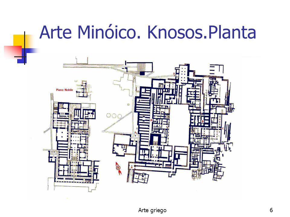 Arte Minóico. Knosos.Planta