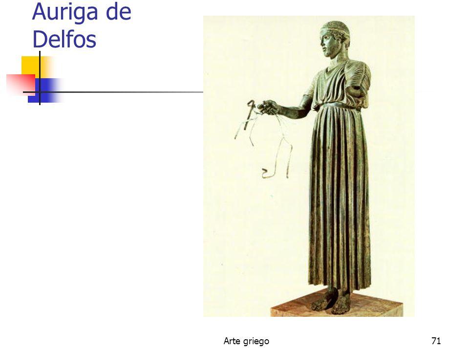 Auriga de Delfos Arte griego