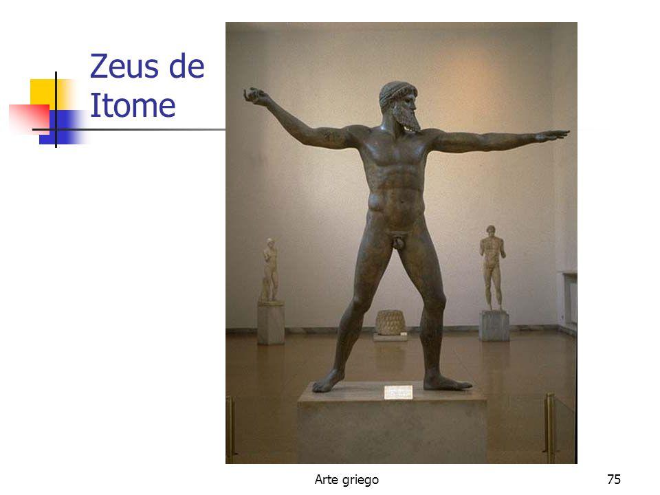 Zeus de Itome Arte griego
