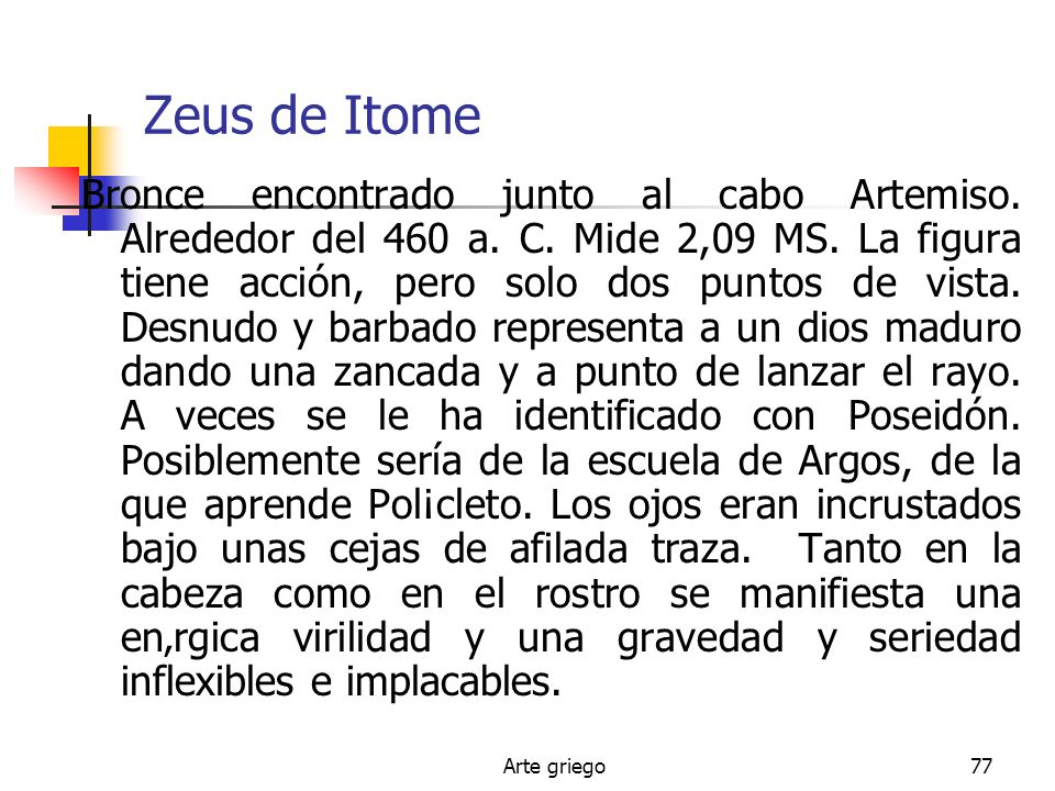 Zeus de Itome