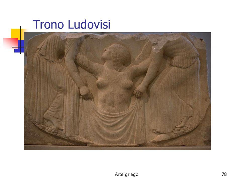 Trono Ludovisi Arte griego