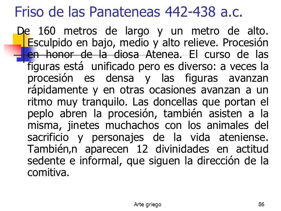 Friso de las Panateneas 442-438 a.c.