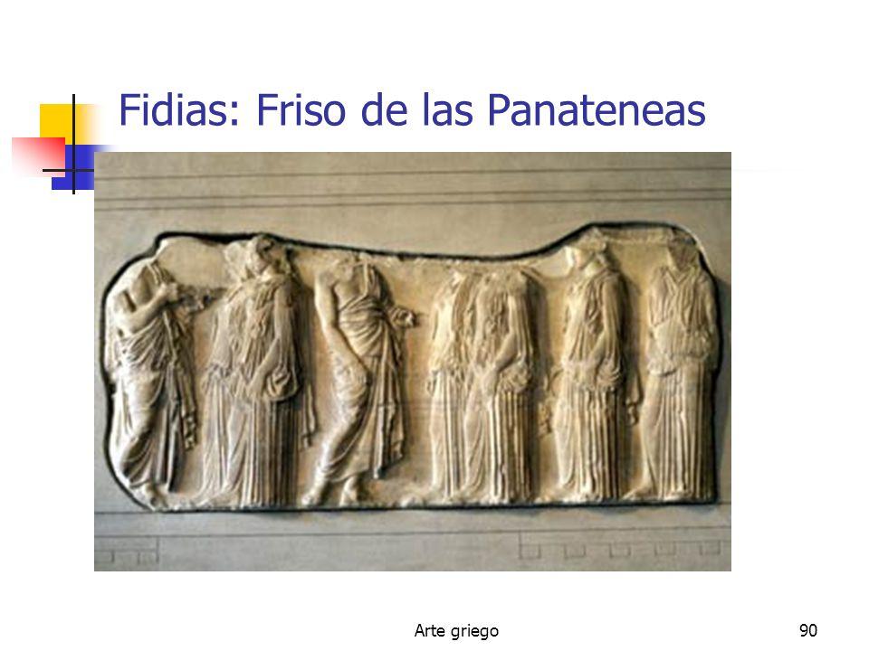 Fidias: Friso de las Panateneas