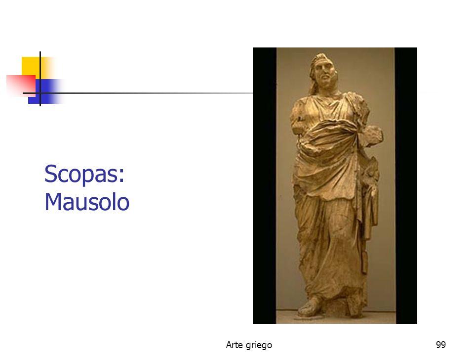 Scopas: Mausolo Arte griego
