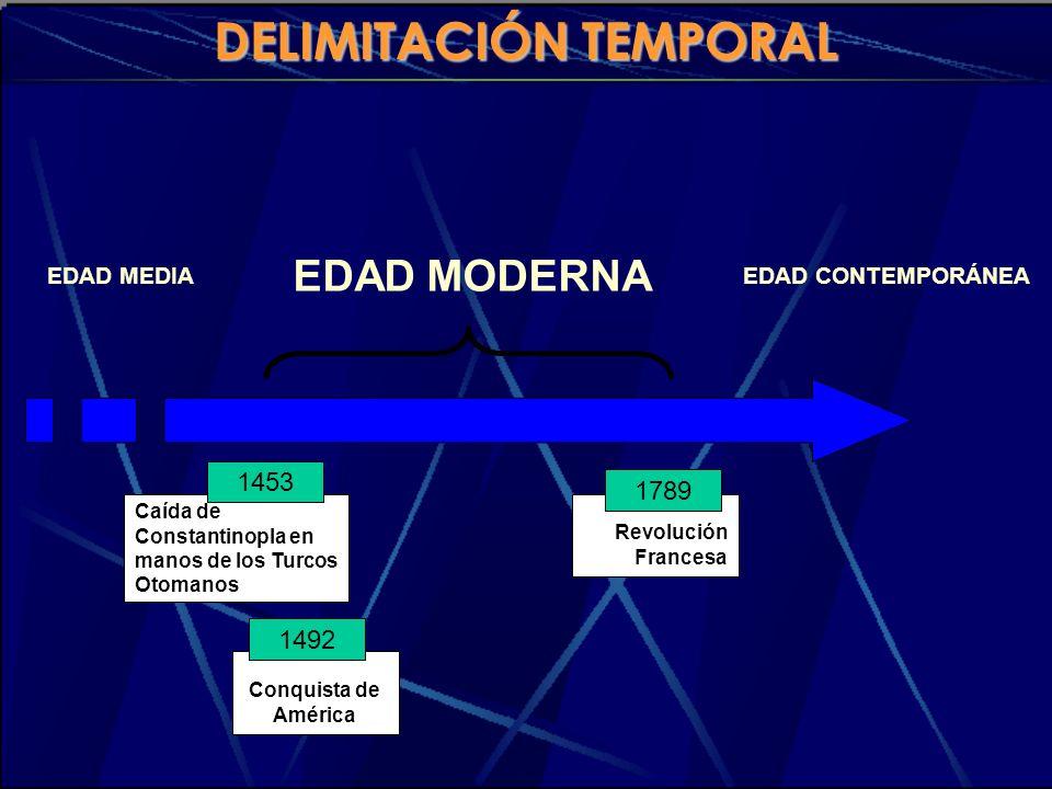 DELIMITACIÓN TEMPORAL