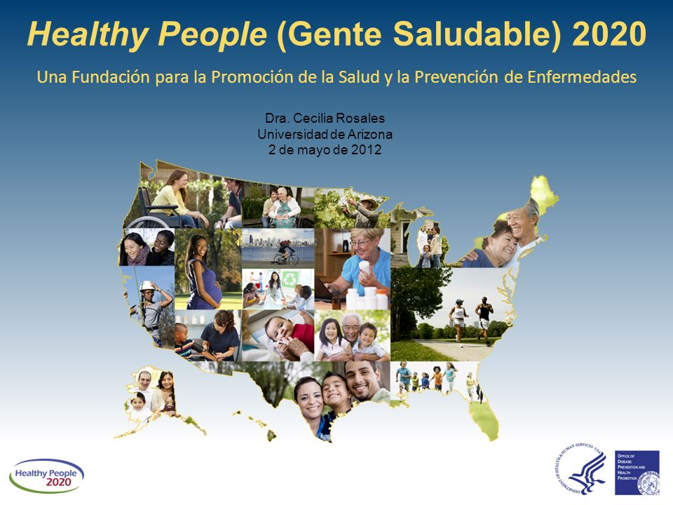 Healthy people gente saludable ppt descargar for Healthy people 2020 is a plan designed to