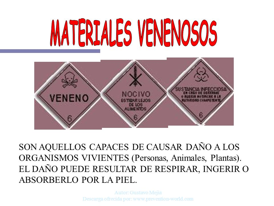 Autor: Gustavo Mejia Descarga ofrecida por: www.prevention-world.com