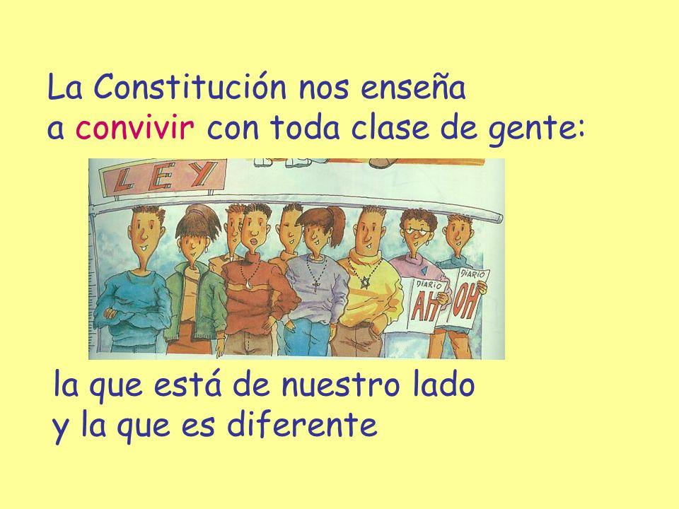 La Constitución nos enseña