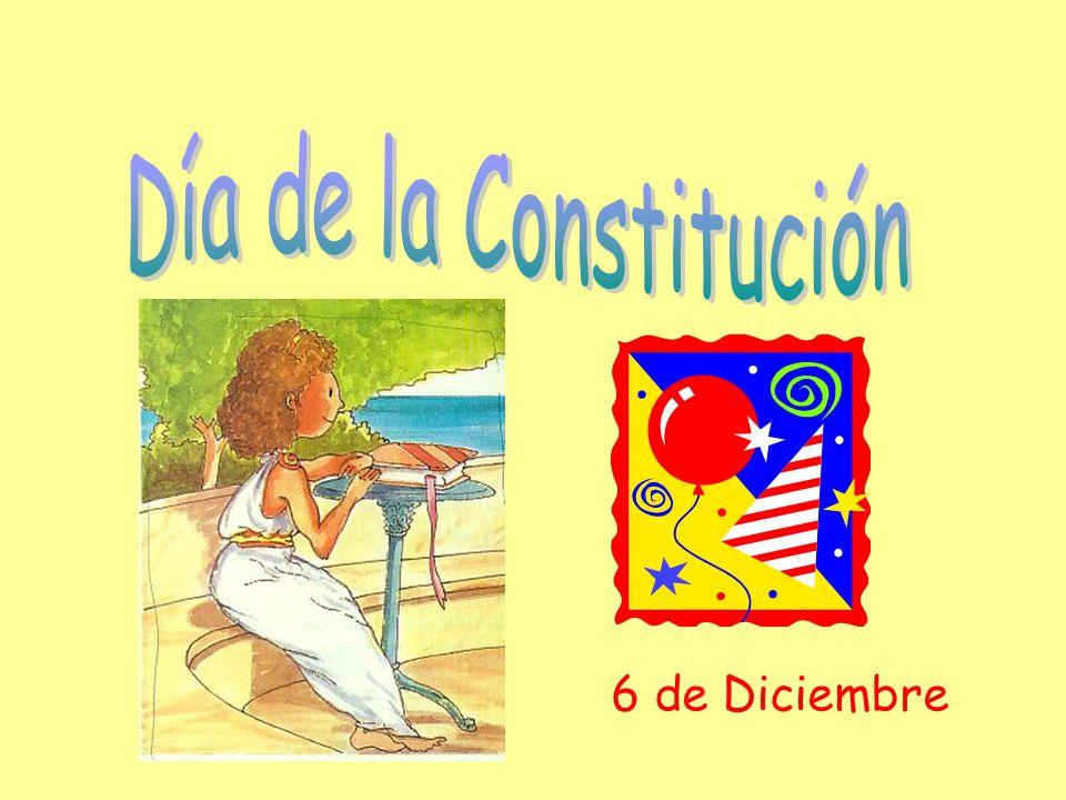 Día de la Constitución 6 de Diciembre