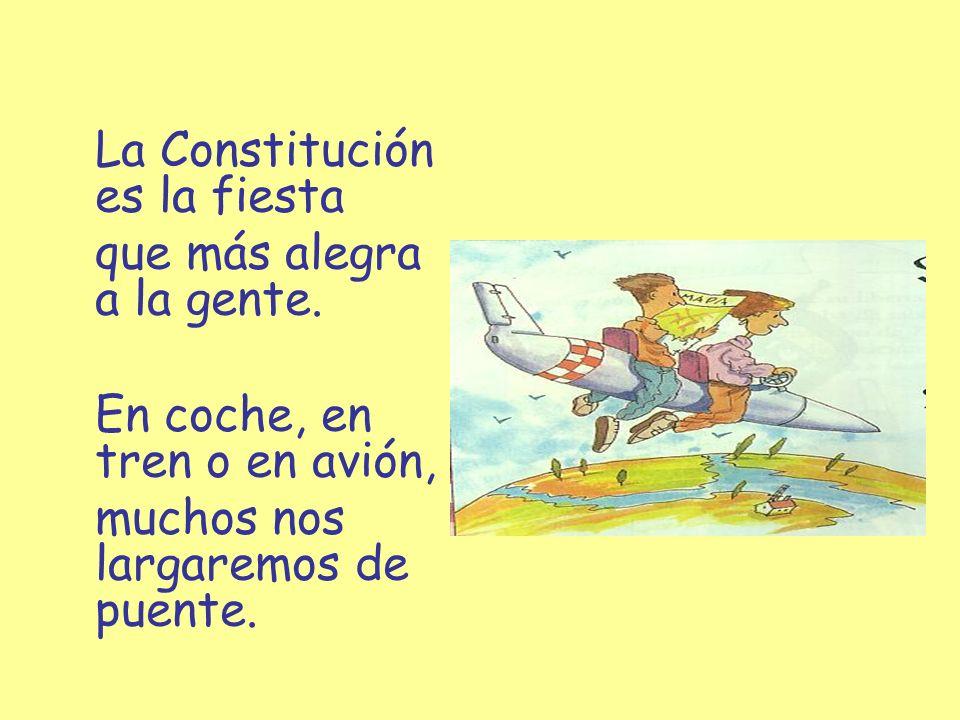 La Constitución es la fiesta