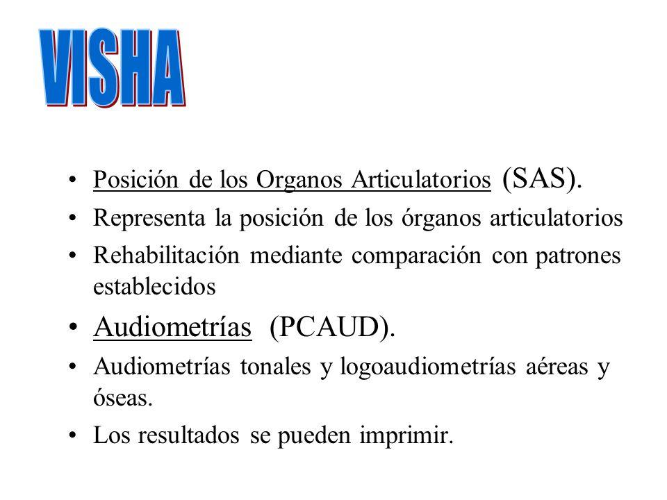 VISHA Audiometrías (PCAUD).