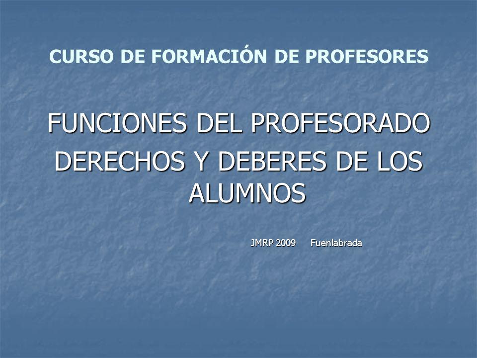 CURSO DE FORMACIÓN DE PROFESORES