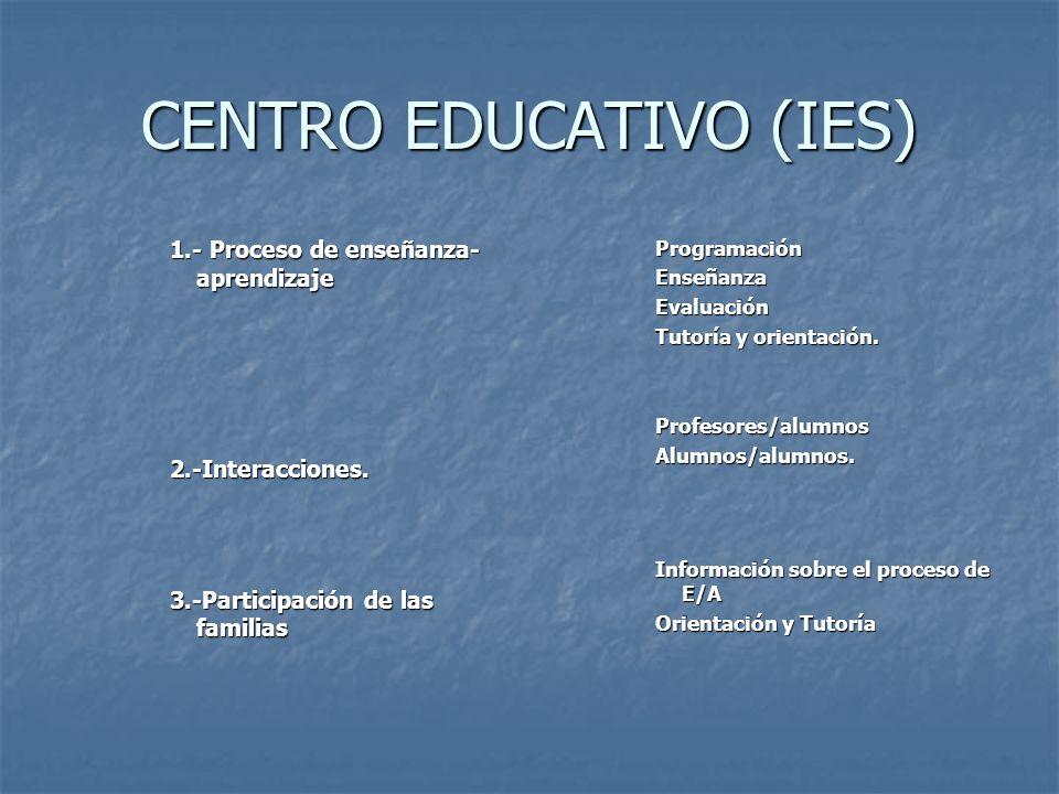 CENTRO EDUCATIVO (IES)