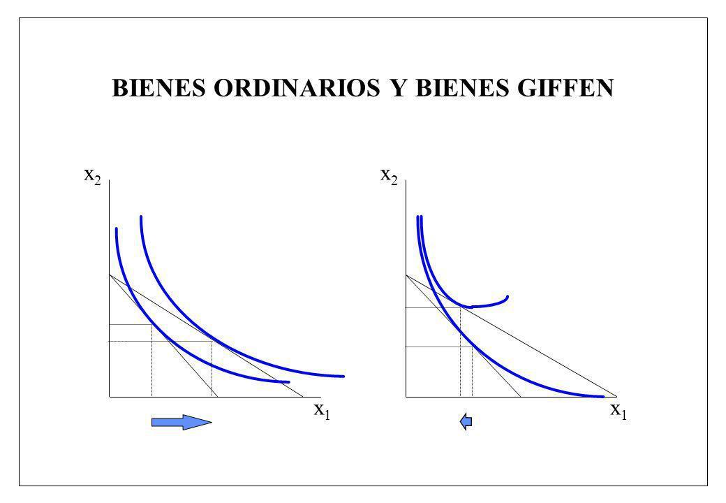 BIENES ORDINARIOS Y BIENES GIFFEN