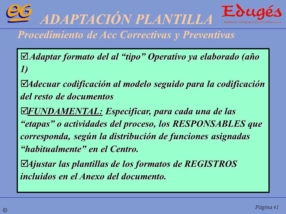 ADAPTACIÓN PLANTILLA Procedimiento de Acc Correctivas y Preventivas