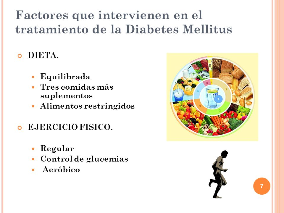 Factores que intervienen en el tratamiento de la Diabetes Mellitus