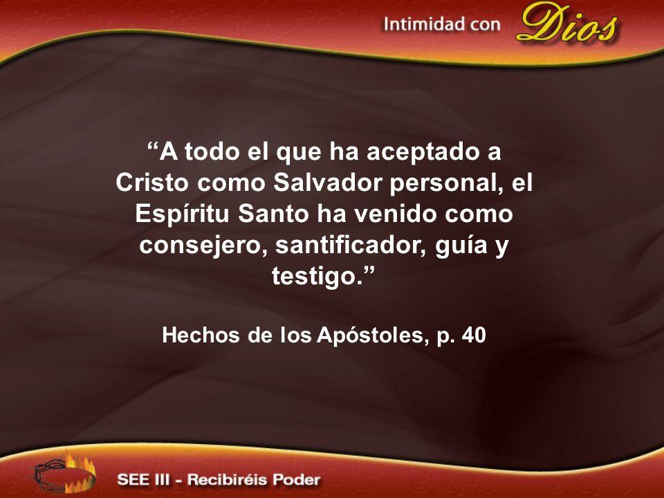 Hechos de los Apóstoles, p. 40