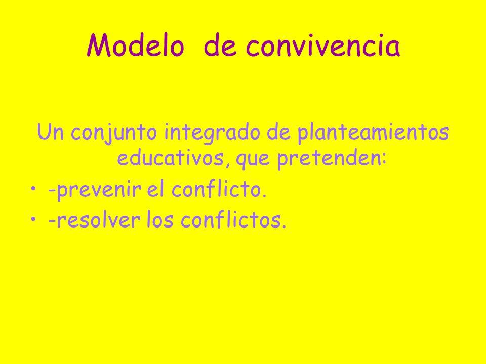 Un conjunto integrado de planteamientos educativos, que pretenden: