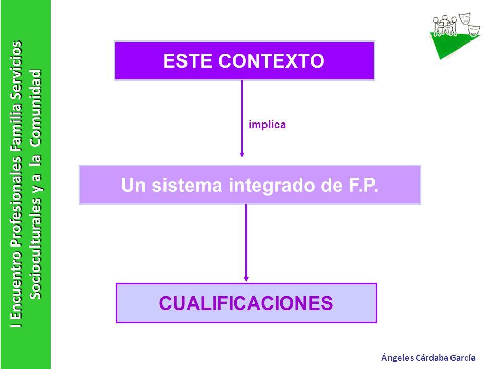 Un sistema integrado de F.P.