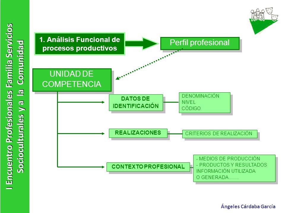 1. Análisis Funcional de procesos productivos