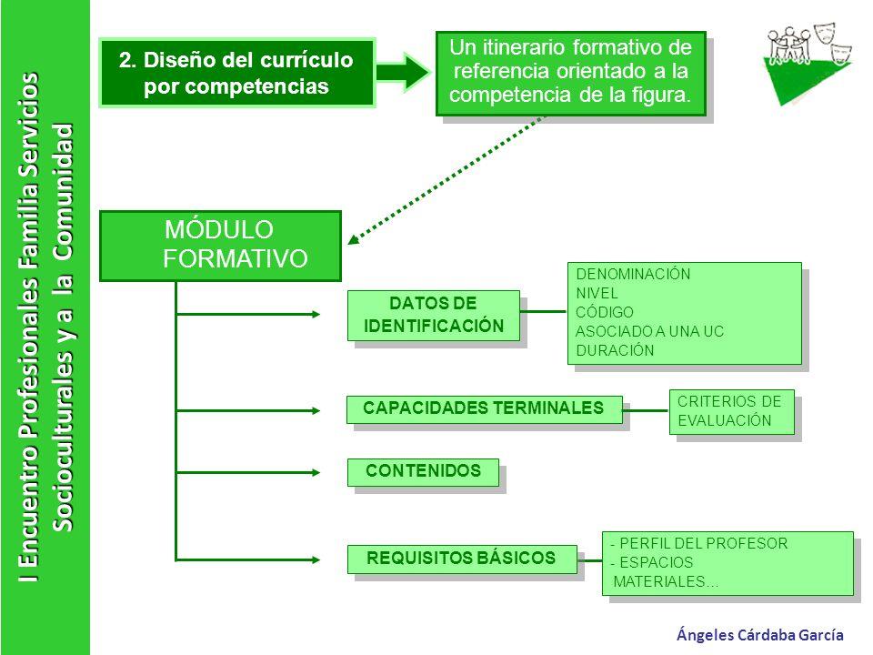 2. Diseño del currículo por competencias CAPACIDADES TERMINALES