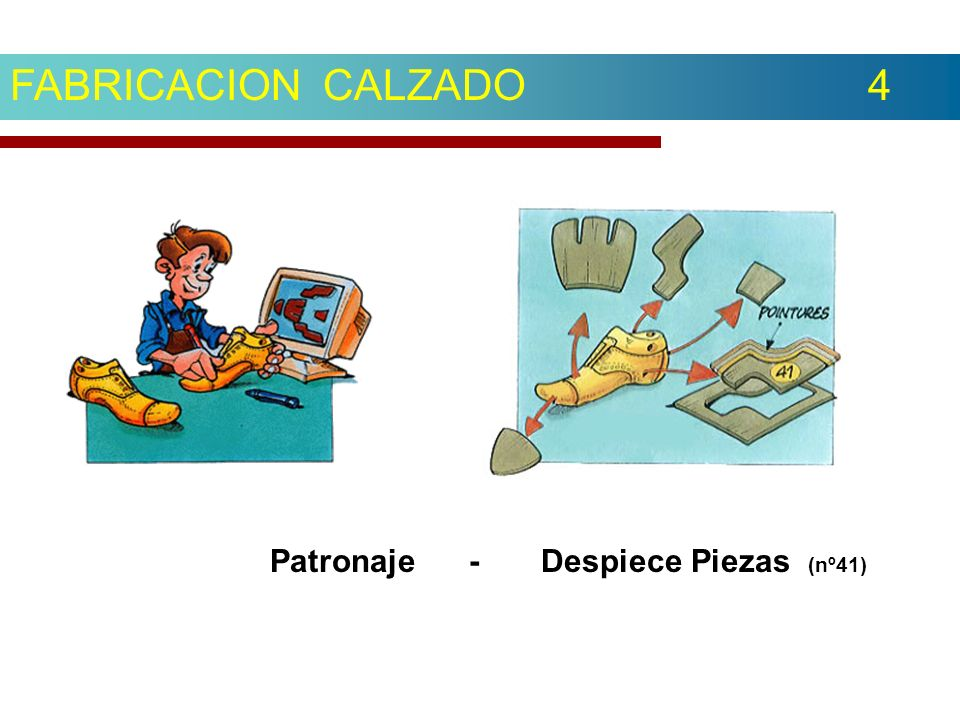 Patronaje - Despiece Piezas (nº41)