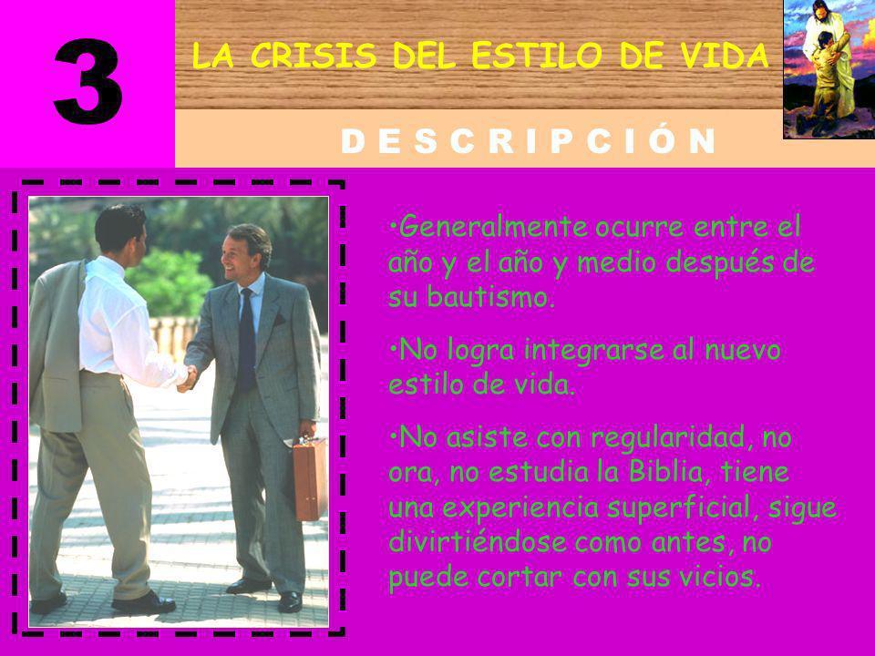 LA CRISIS DEL ESTILO DE VIDA