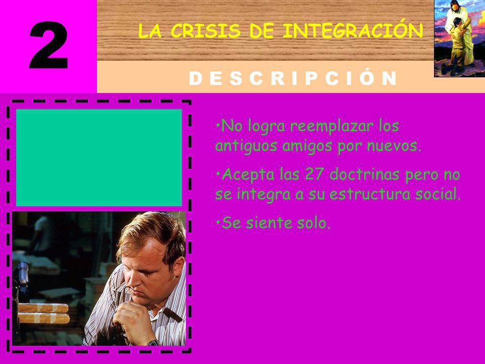 LA CRISIS DE INTEGRACIÓN