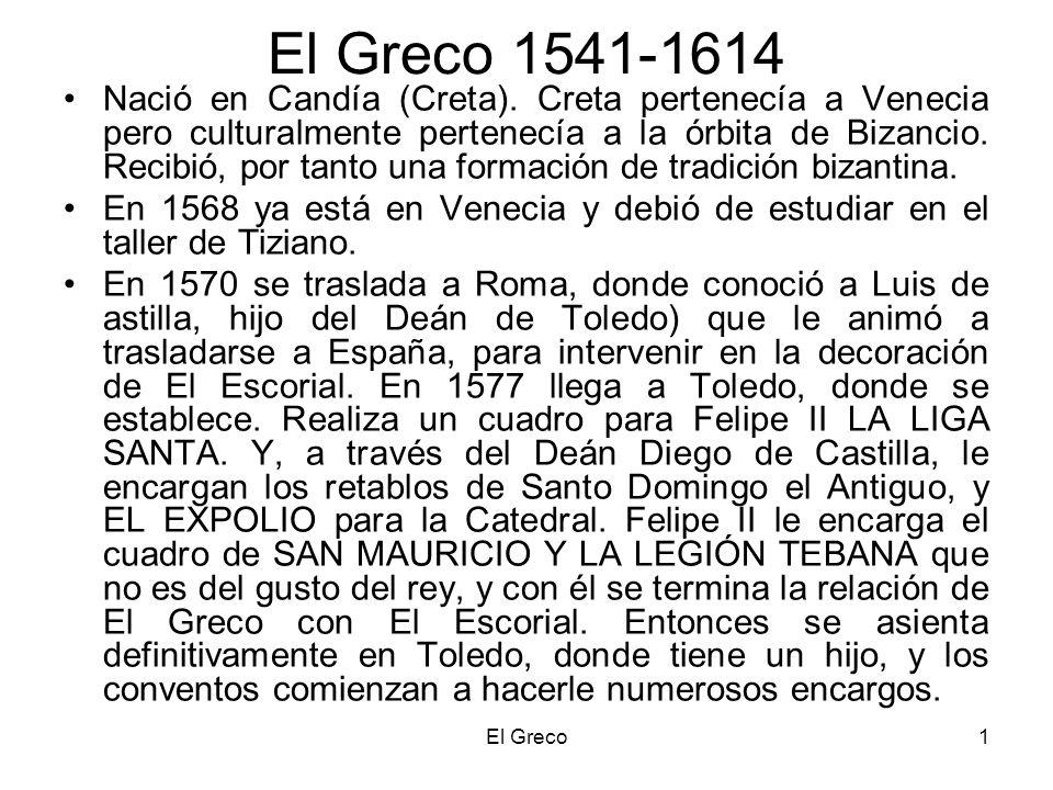 El Greco 1541-1614