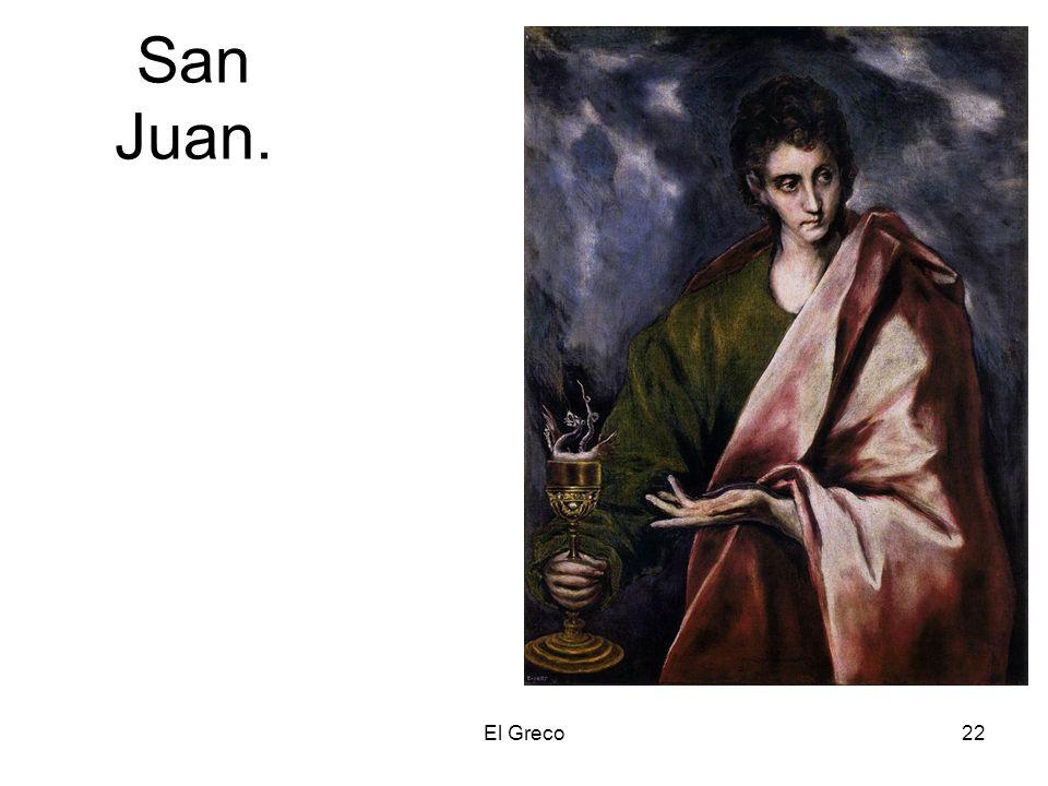 San Juan. El Greco