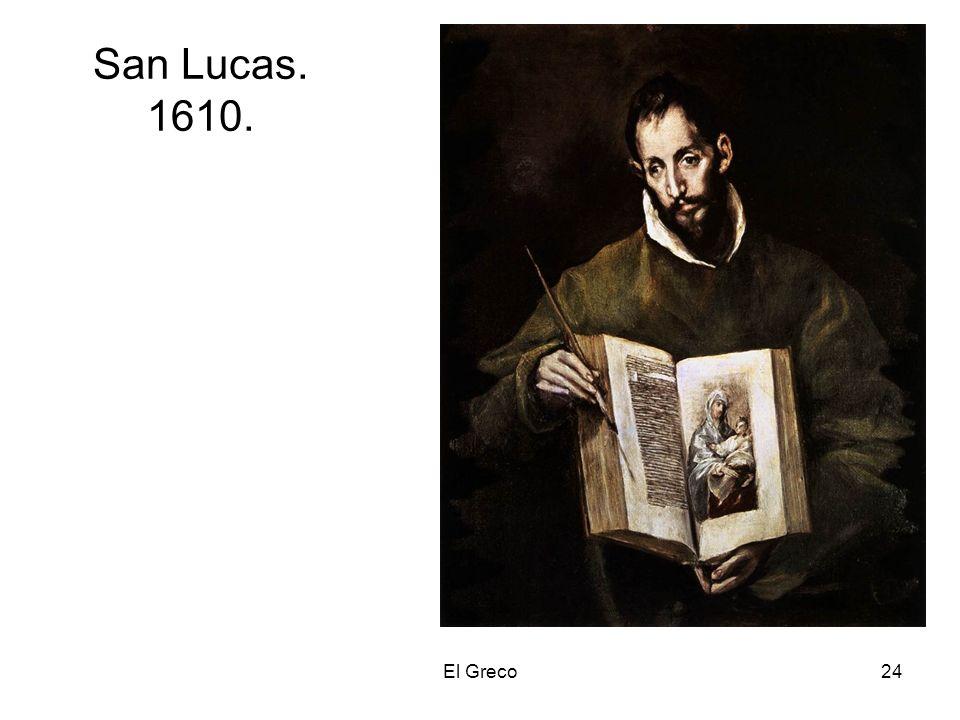 San Lucas. 1610. El Greco