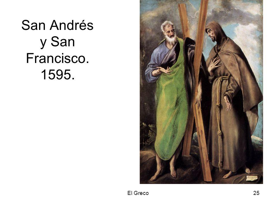 San Andrés y San Francisco. 1595.