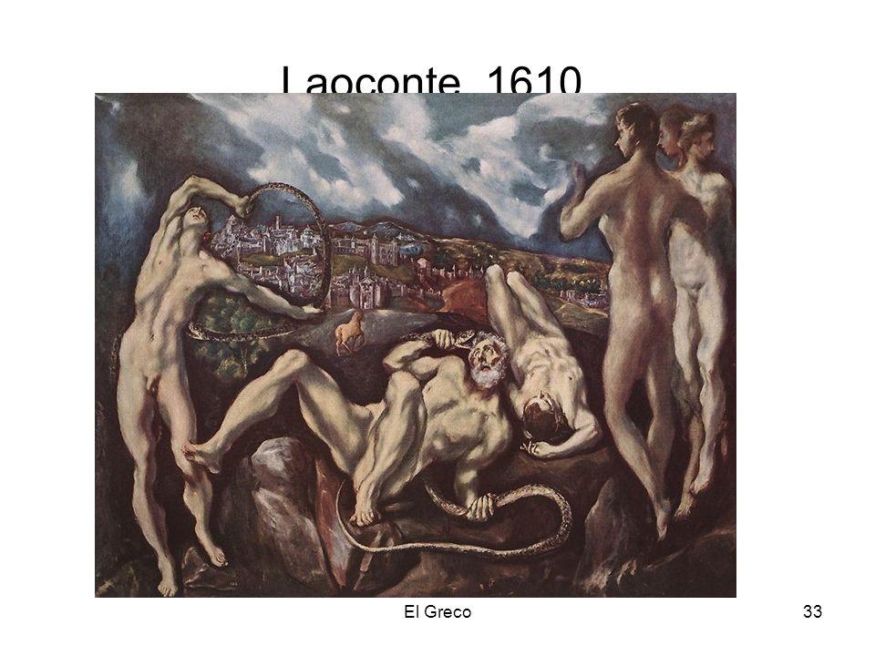 Laoconte. 1610. El Greco