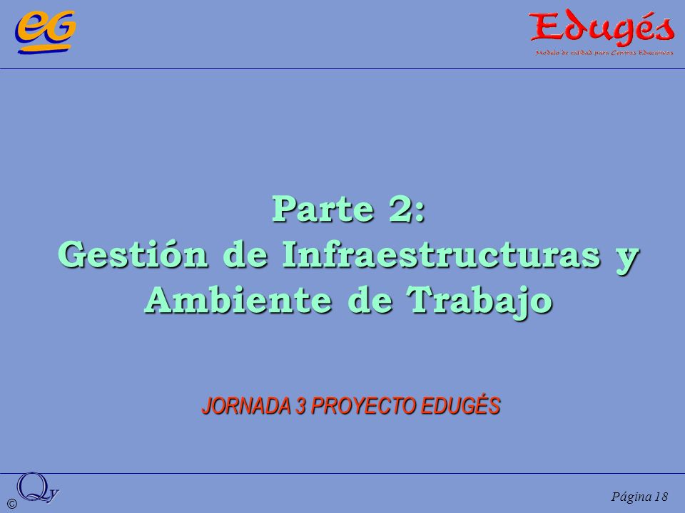 Gestión de Infraestructuras y Ambiente de Trabajo