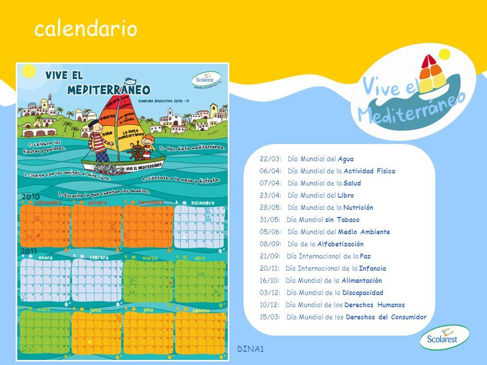 calendario Calendario anual dirigido a directores –AMPAS Tamaño DINA 1