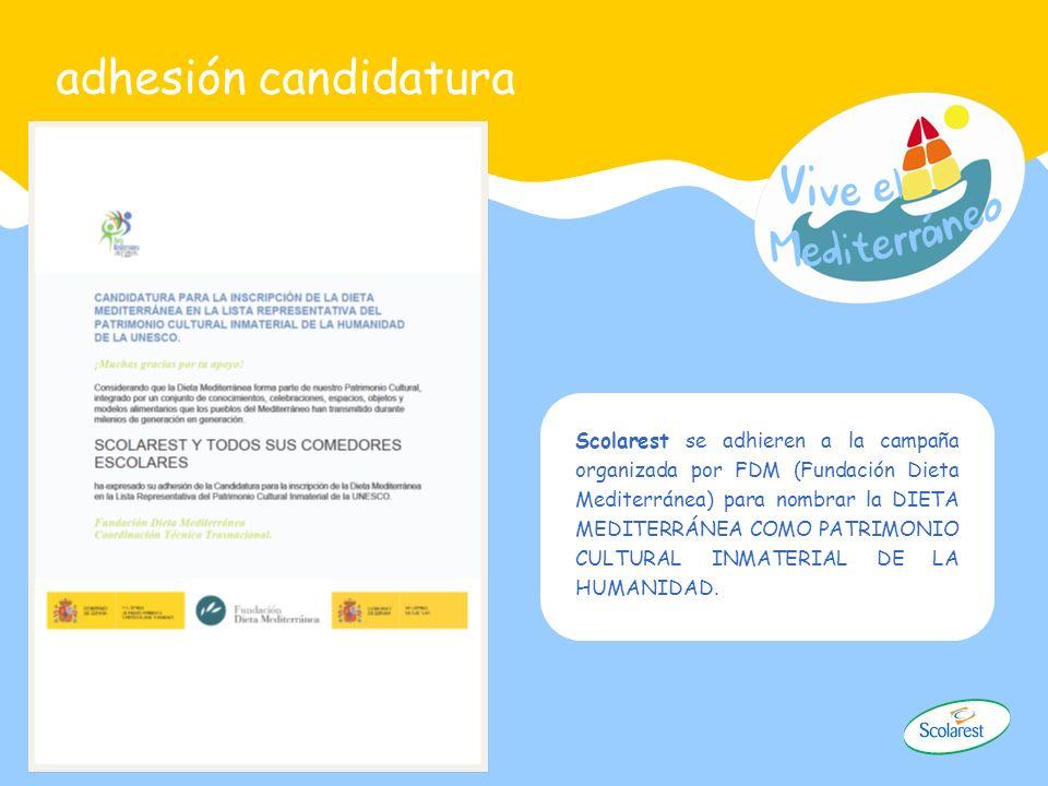 adhesión candidatura