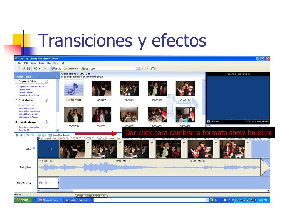 Transiciones y efectos