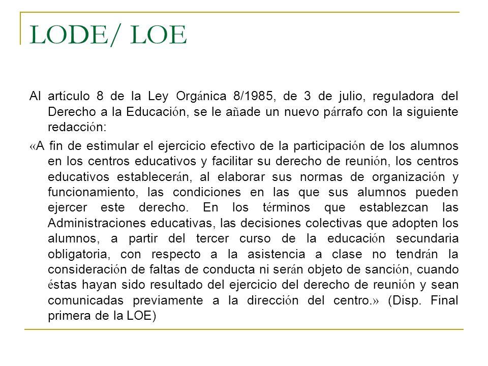 LODE/ LOE