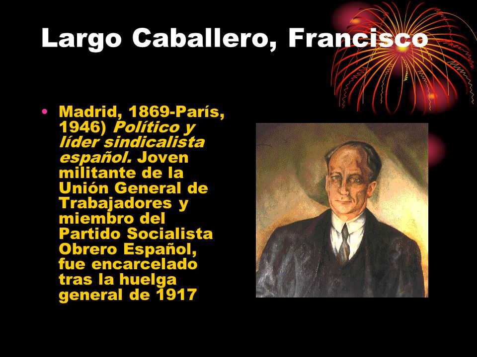 Largo Caballero, Francisco