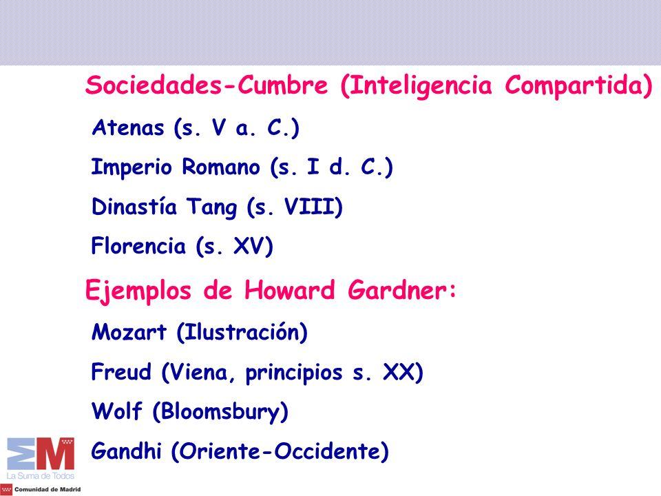 Sociedades-Cumbre (Inteligencia Compartida)