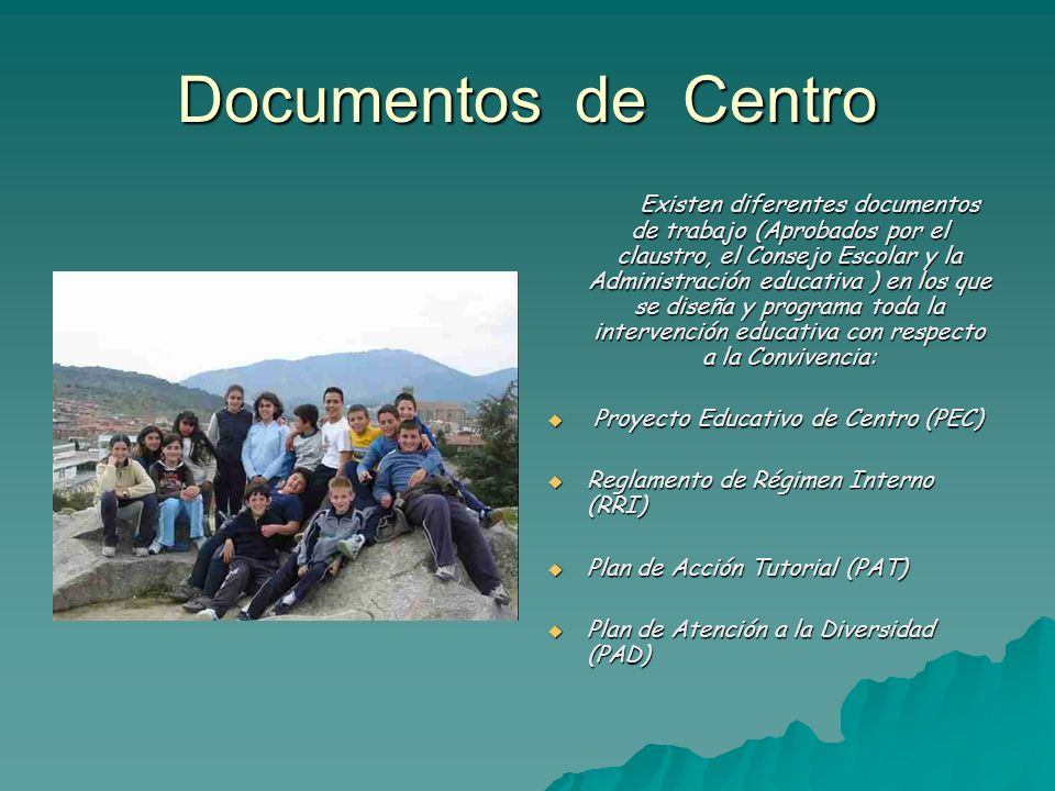 Documentos de Centro