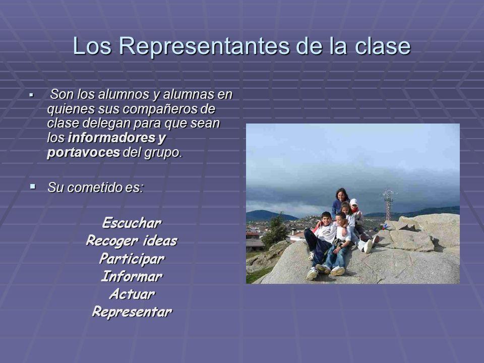 Los Representantes de la clase