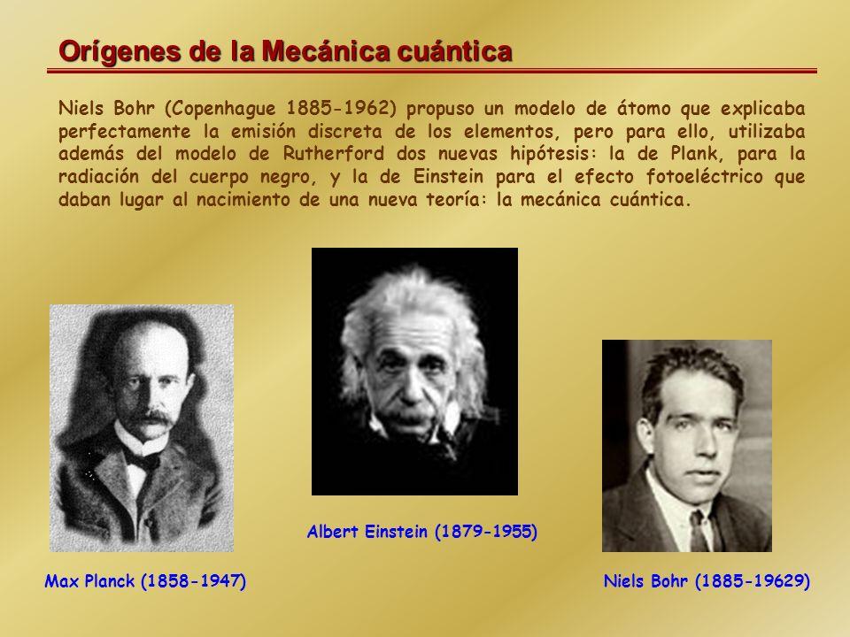 Orígenes de la Mecánica cuántica